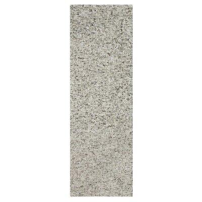 Granite Hand-Tufted Gray Area Rug Rug Size: Runner 26 x 8