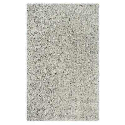 Granite Hand-Tufted Gray Area Rug Rug Size: 3 x 5