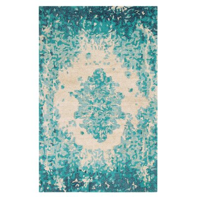Looking Glass Hand-Tufted Lake Indoor Area Rug Rug Size: 8 x 10