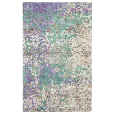 Marquesa Hand-Tufted Blue Indoor Area Rug Rug Size: 9 x 13