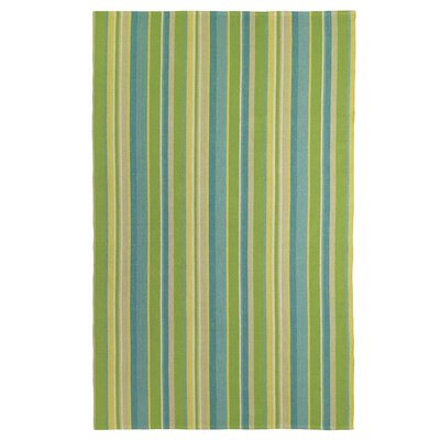 Lime Indoor/Outdoor Area Rug Rug Size: 5 x 8