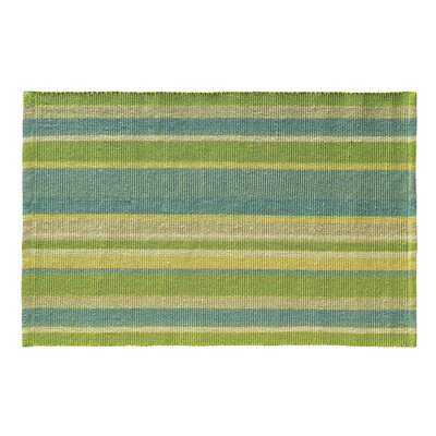 Lime Indoor/Outdoor Area Rug Rug Size: 2 x 3