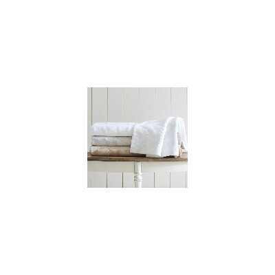 Ellora Matelasse Coverlet Size: Twin, Color: White