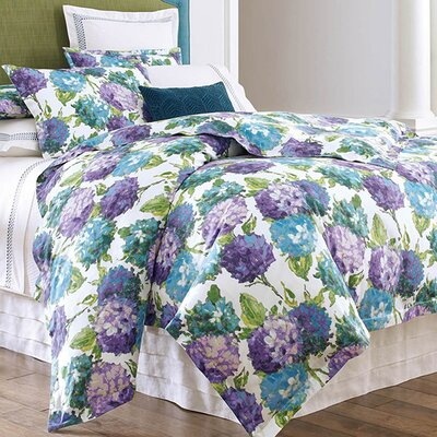 Hydrangea Duvet Cover Bed Size: Twin