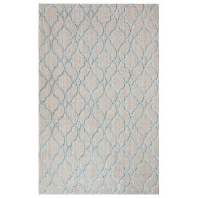 Palazzo Hand-Woven Driftwood Area Rug Rug Size: 5 x 8