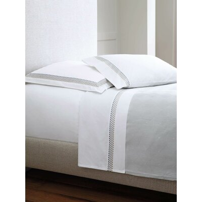 Jewels 4 Piece 400 Thread Count Sheet Set   Size: Twin, Color: Platinum