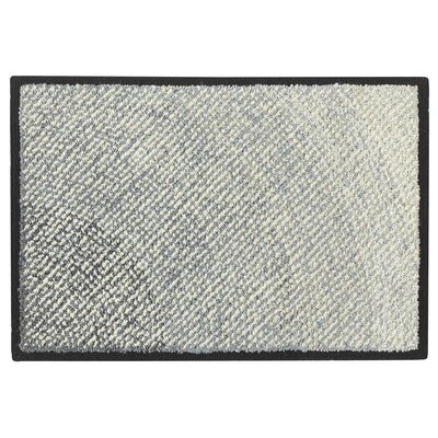 Infinity Hand Hooked Black Indoor/Outdoor Area Rug Rug Size: 2 x 3