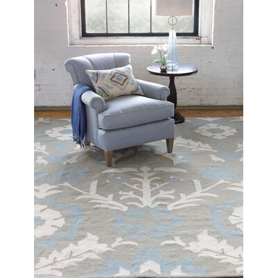 Arabelle Hand Woven Blue Mist Indoor/Outdoor Area Rug Rug Size: 3 x 5