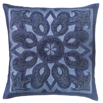 Cassandra Throw Pillow Color: Indigo