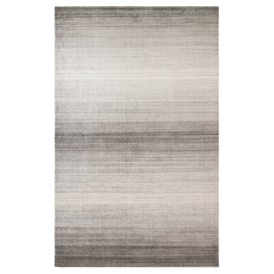 Shadow Hand-Woven Pewter Area Rug Rug Size: 8 x 10