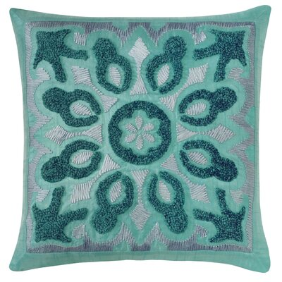 Cassandra Throw Pillow Color: Lake