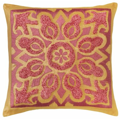 Cassandra Throw Pillow Color: Bittersweet