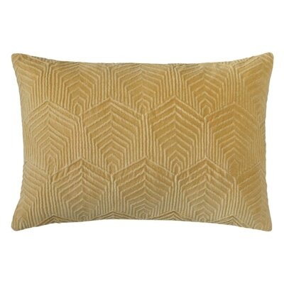 Sloan Velvet Lumbar Pillow Color: Camel