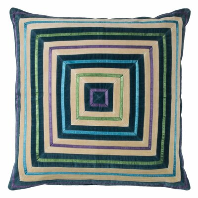 Zoe Throw Pillow Color: Teal