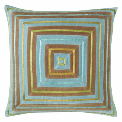 Zoe Throw Pillow Color: Lake