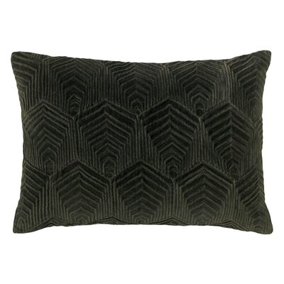 Sloan Velvet Lumbar Pillow Color: Loden