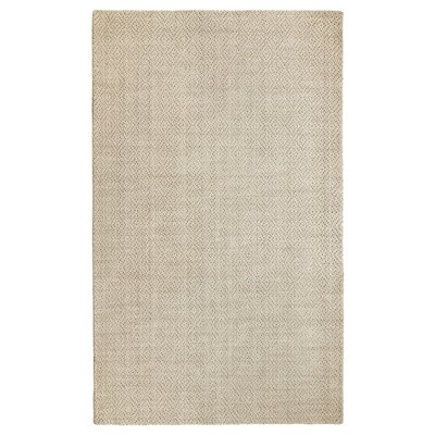 Fergerson Hand Woven Sand Area Rug Rug Size: Rectangle 76 x 96