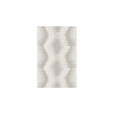 Dunagan Gray/Beige Area Rug Rug Size: Rectangle 2 x 3
