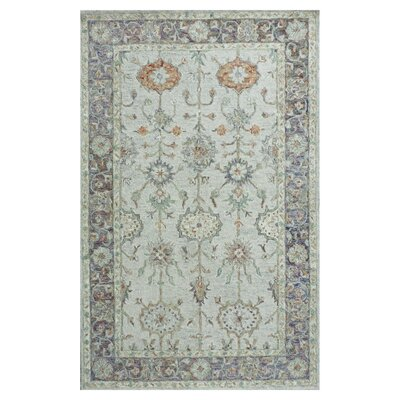 Falcone Light Green Area Rug Rug Size: Runner 23 x 8
