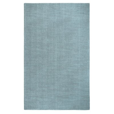 Fergerson Hand Woven Blue Area Rug Rug Size: Rectangle 56 x 86