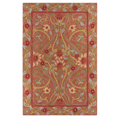 Kisling Brown/Red Area Rug Rug Size: Runner 23 x 8