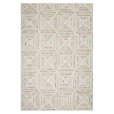 Felten Cream Area Rug Rug Size: Rectangle 76 x 96