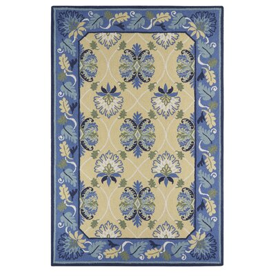 Cerrato Blue/Beige Area Rug Rug Size: Rectangle 2 x 3