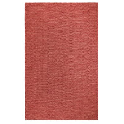 Fergerson Hand Woven Red Area Rug Rug Size: Rectangle 2 x 3