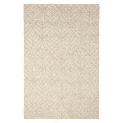 Gosnold Hand Woven Beige Area Rug Rug Size: Rectangle 56 x 86