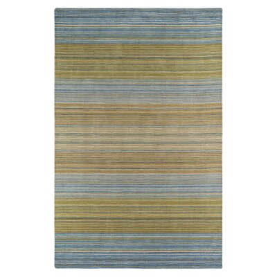 Carruthers Blue/Brown Area Rug Rug Size: Rectangle 56 x 86