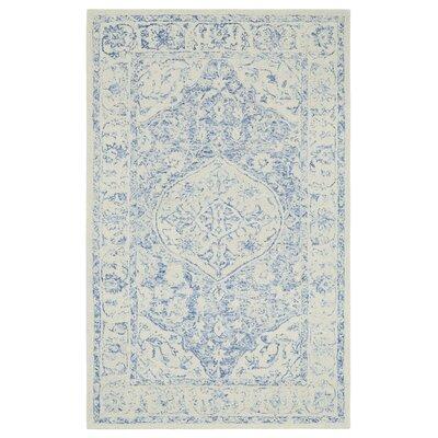 Gosnold Blue/Beige Area Rug Rug Size: Rectangle 86 x 126
