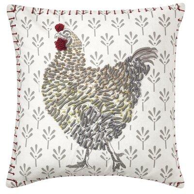 Coq-A-Doodle Throw Pillow
