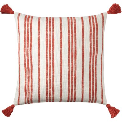 Grain Sack Cotton Throw Pillow