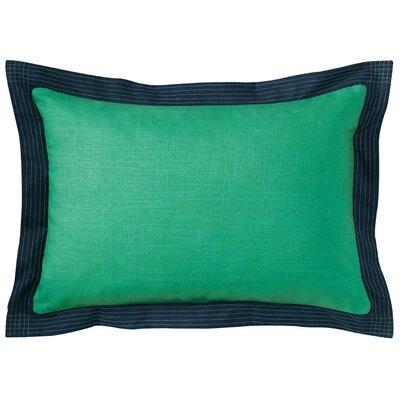 Ainsley Lumbar Pillow Color: Green