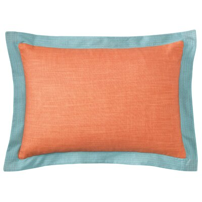 Ainsley Lumbar Pillow Color: Coral