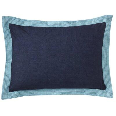 Ainsley Lumbar Pillow Color: Navy