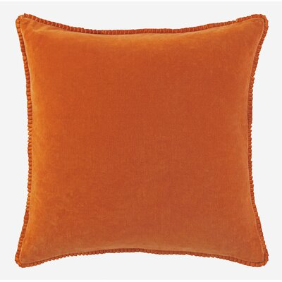 Larissa Throw Pillow Color: Paprika