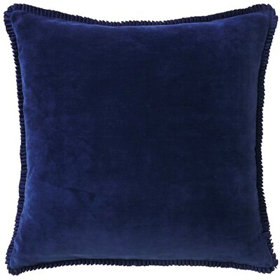 Larissa Throw Pillow Color: Prussia