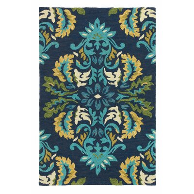 Margie Ultramarine Indoor/Outdoor Area Rug Rug Size: 36 x 56