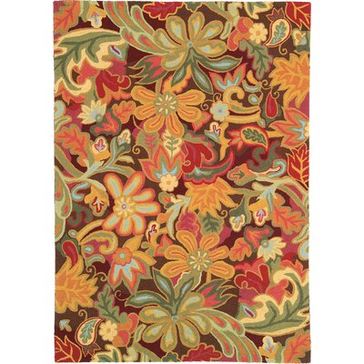 Tapestry Area Rug Rug Size: Rectangle 4 x 6