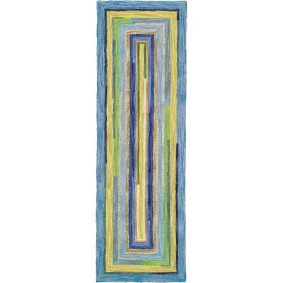 Concentric Sky Area Rug Rug Size: Runner 26 x 8