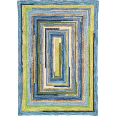 Concentric Sky Area Rug Rug Size: Rectangle 8 x 10