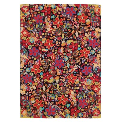 Wendys Garden Area Rug Rug Size: Rectangle 6 x 9