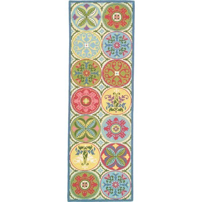 Stepping Stones Area Rug Rug Size: Runner 26 x 8