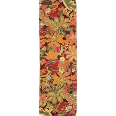 Tapestry Area Rug Rug Size: Runner 26 x 8