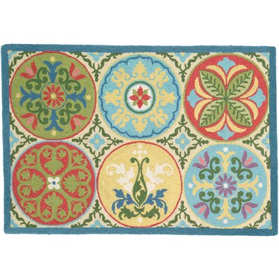 Stepping Stones Area Rug Rug Size: Rectangle 2 x 3