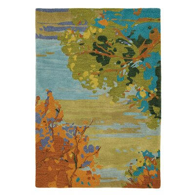 Landscape Rug Rug Size: Rectangle 5 x 8