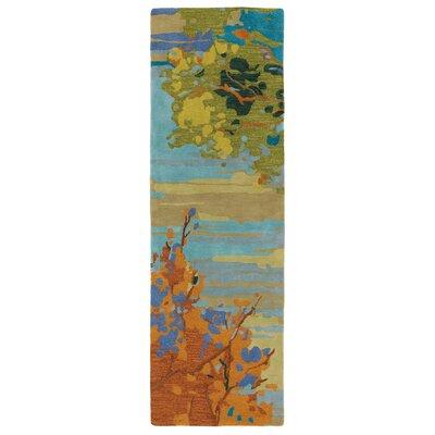 Landscape Rug Rug Size: Runner 26 x 8
