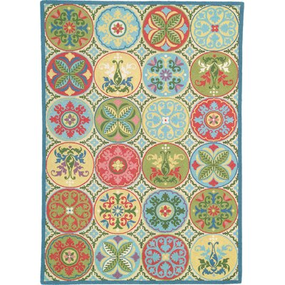 Stepping Stones Area Rug Rug Size: 8 x 11