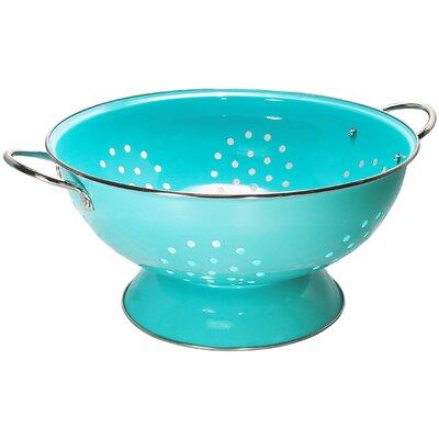 Calypso Basics 7 Quart Colander Color: Turquoise 89702
